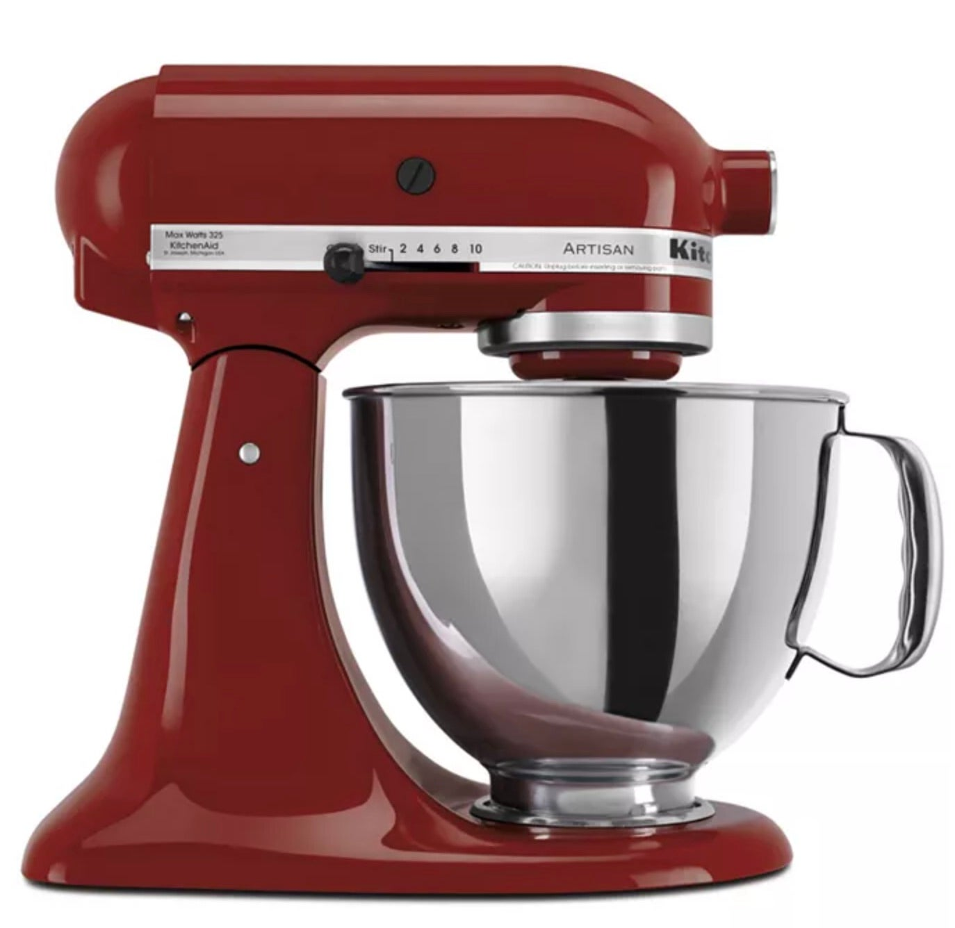 KitchenAid Artisan 5-Quart Tilt Head Stand Mixer with Stainless Steel Bowl