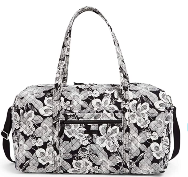Vera Bradley Microfiber Large Travel Duffle Bag