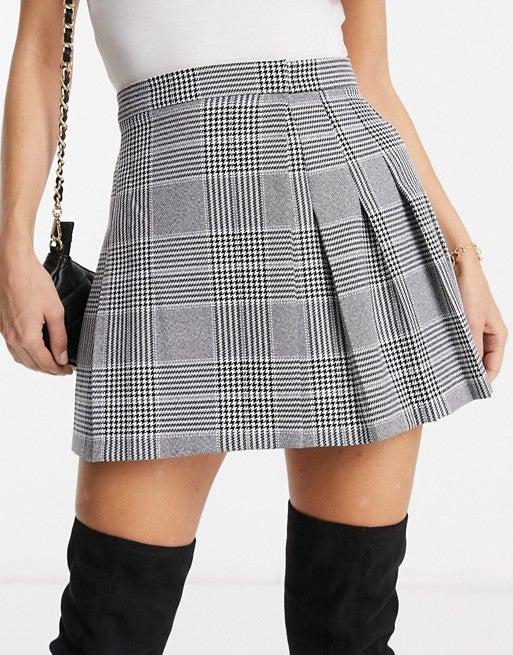 ASOS pleated mini skirt