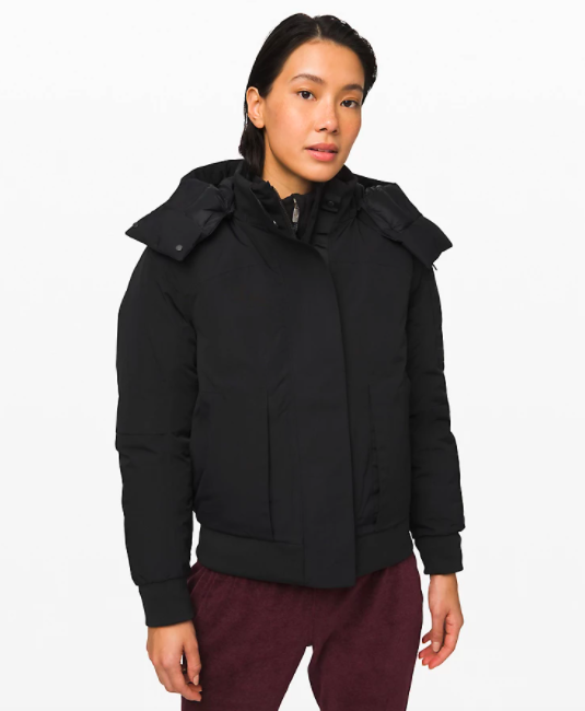 Lululemon Winter Warrior Bomber