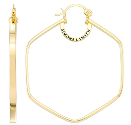 Simone I. Smith Honeycomb Hoops