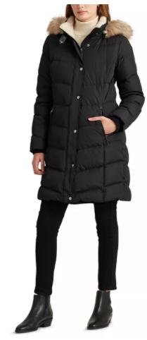 Ralph Lauren Hooded Down Coat