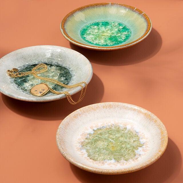 Uncommon Goods Jewel-Tone Birth Month Dish