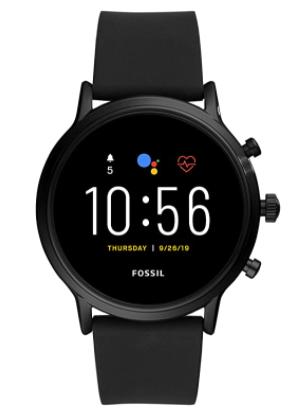 Gen 5 Carlyle Stainless Steel Touchscreen Smartwatch