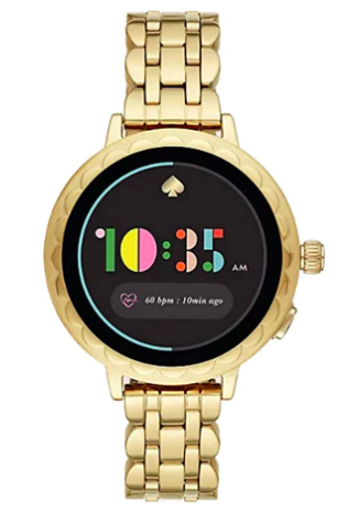 Kate Spade New York Scallop 2 Stainless Steel Touchscreen Smartwatch