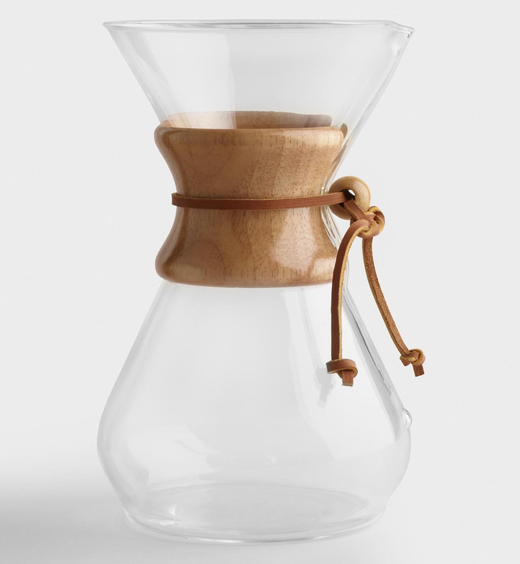 Chemex 8 Cup Glass Pour Over Coffee Maker