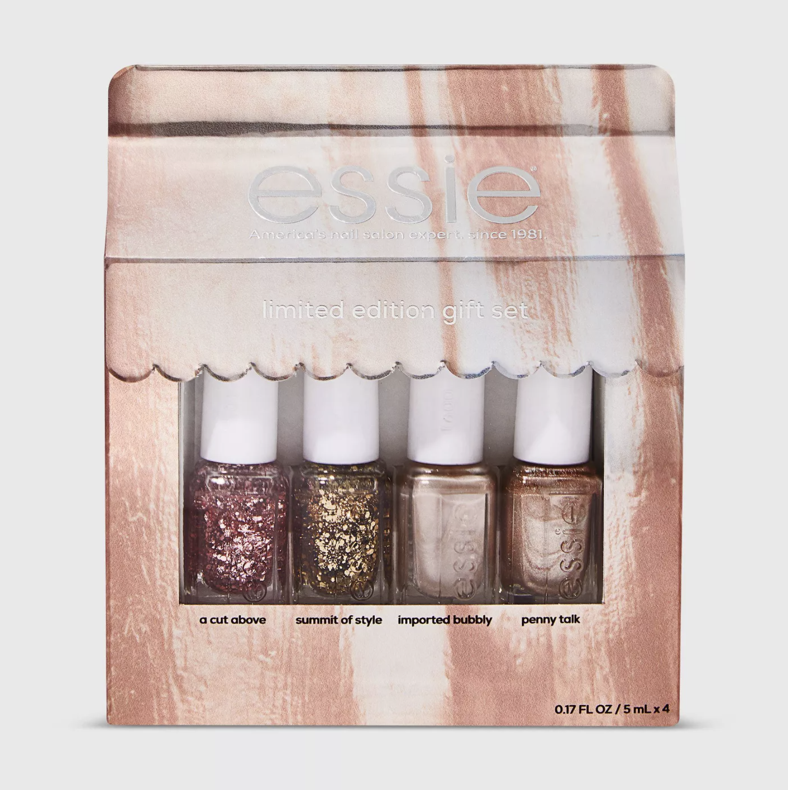 Essie Core Exclusive Mini Nail Polish Gift Set