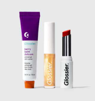 glossier The Core Lip Collection