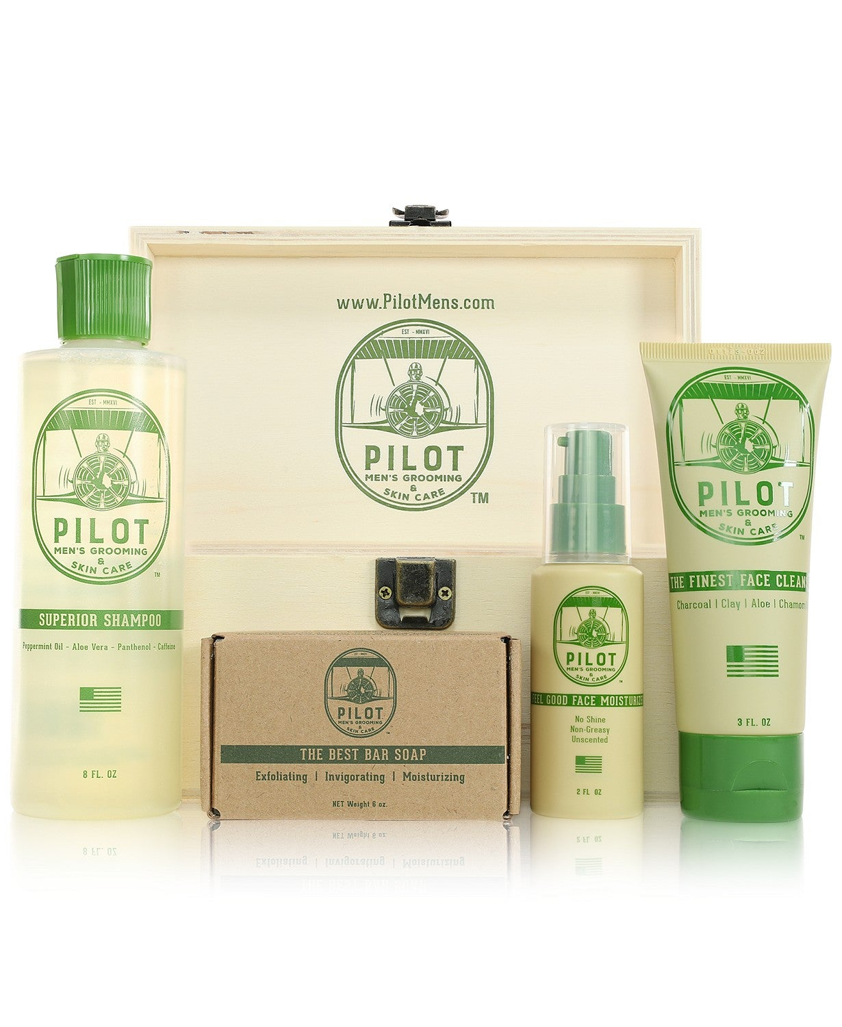 Pilot 5-Pc. Essentials Grooming & Skin Care Set