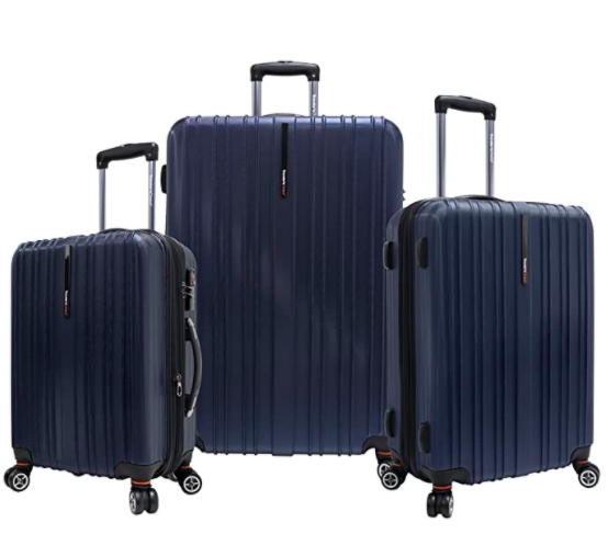Traveler's Choice Tasmania Expandable Spinner Luggage