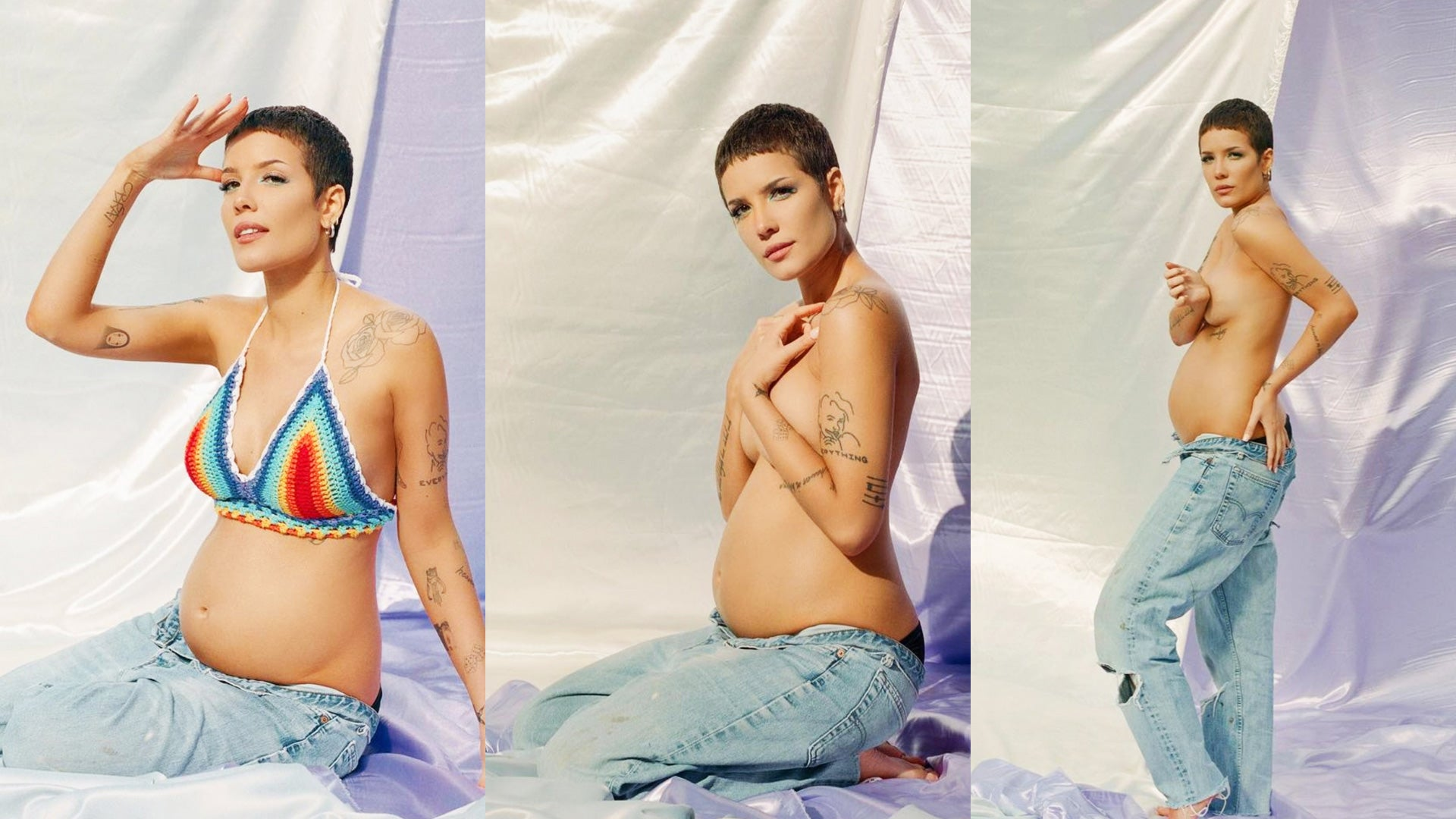 Halsey Is Pregnant With First Child | Entertainment Tonight