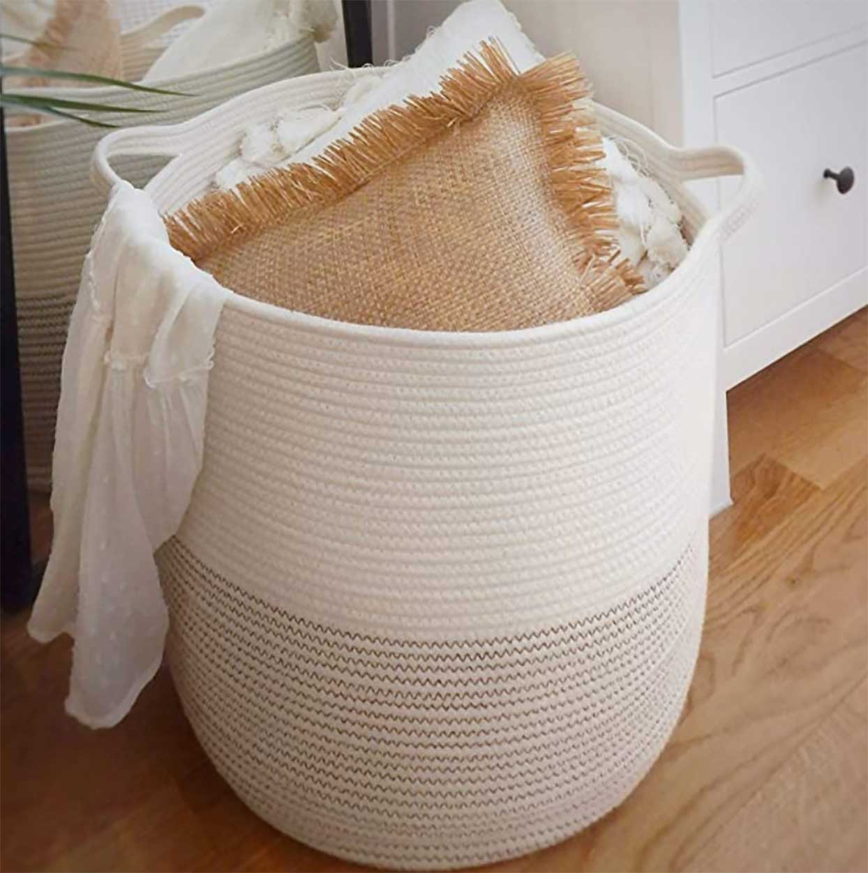 Extra Large Woven Storage Baskets