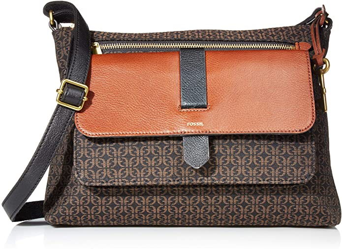 Fossil Women's Kinley Large Crossbody Purse Handbag