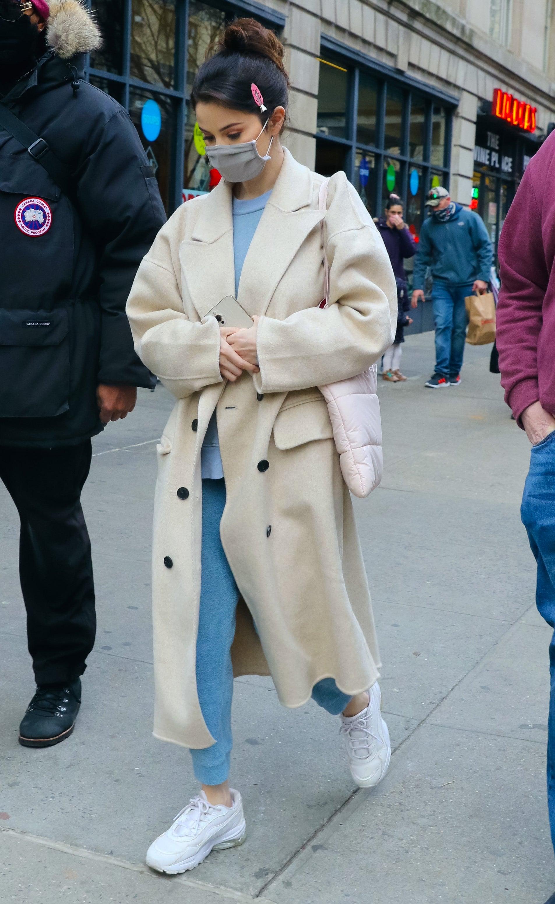 Selena Gomez Free People Coat