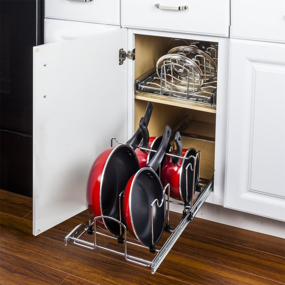 Hardware Resources Pots and Pans Drawer Organizer