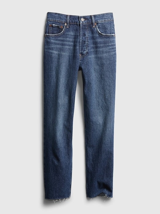 Gap High Rise Cheeky Straight Jeans