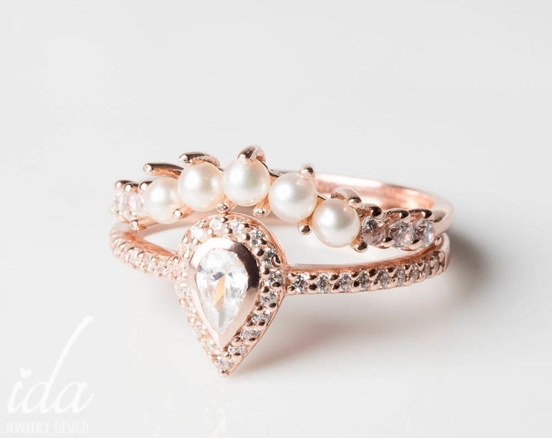 Ida Jewelry Design Pearl Diamond Wedding Ring Set.jpg
