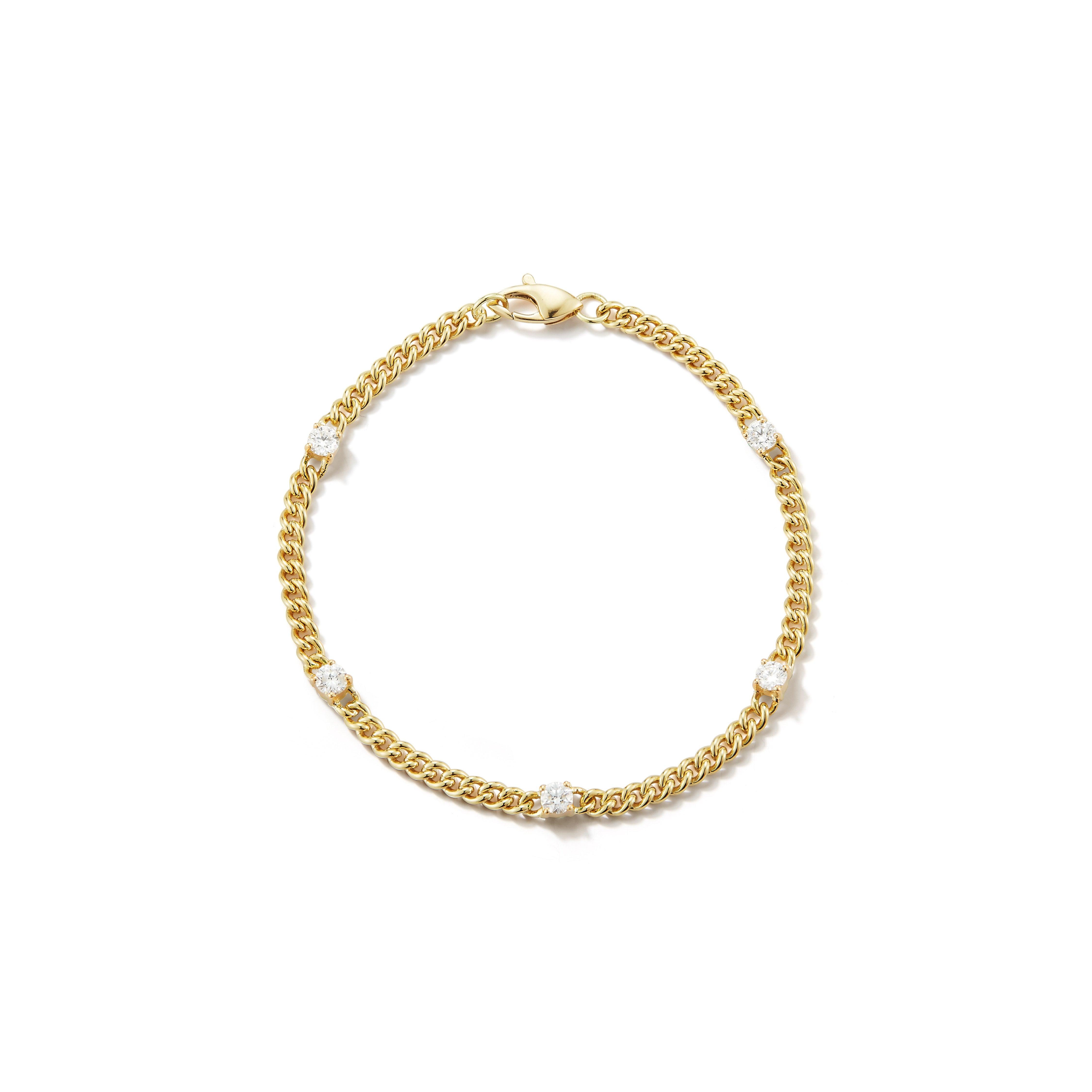 Jemma Wynne Toujours Diamond Bracelet