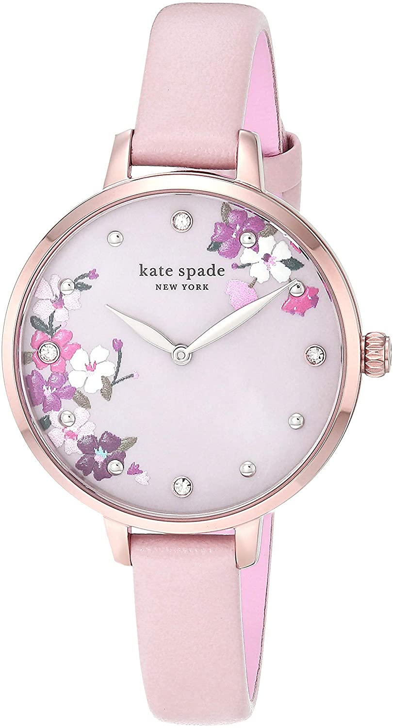 Kate Spade New York Women's Metro Slim Stainless Steel Quartz Watch