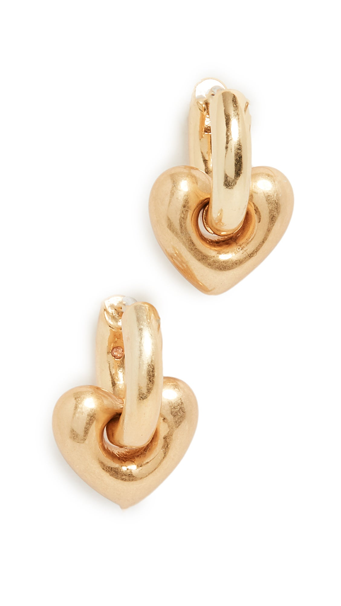 Madewell Puffy Heart Hoops