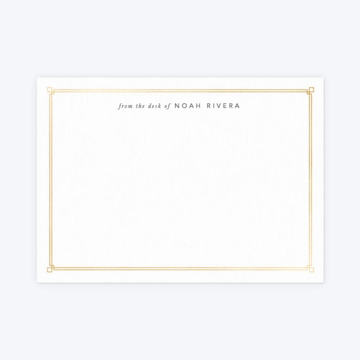 Papier Deco Corners Notecards