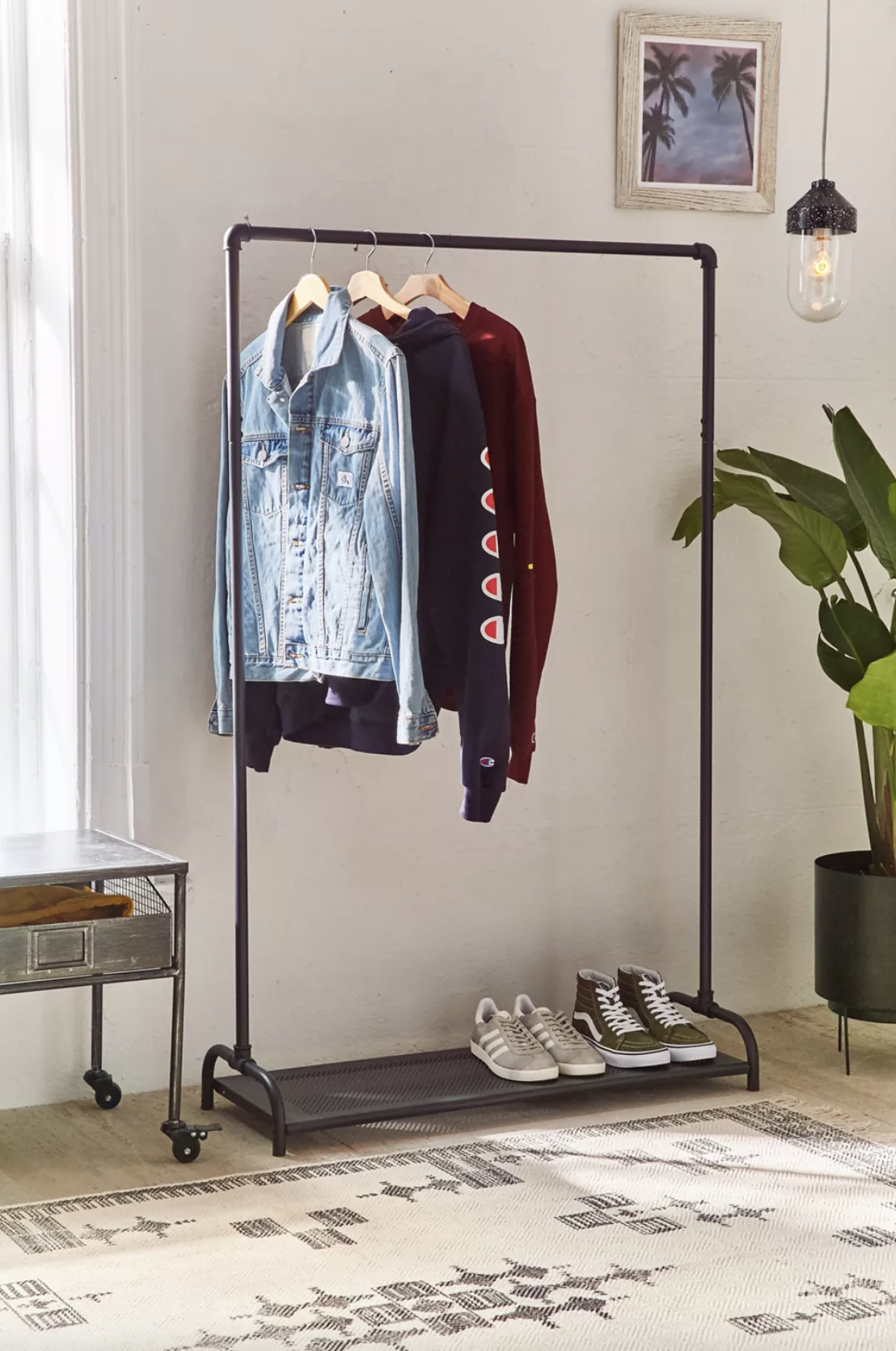 Urban Outfitters Pipe Clothing Rack