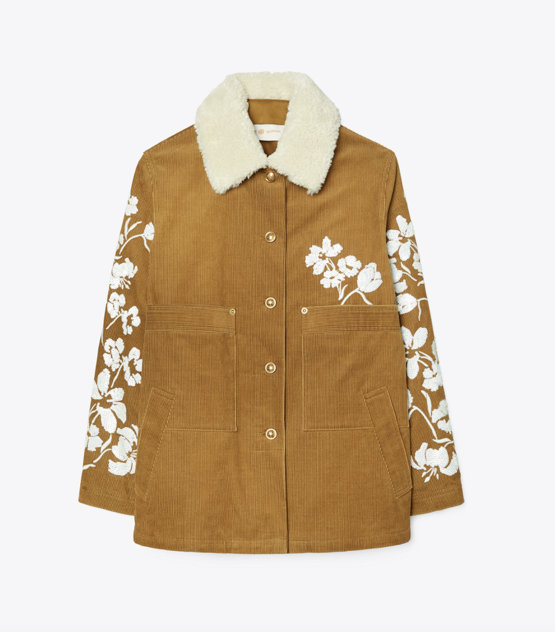 Tory Burch Embellished Barn Jacket
