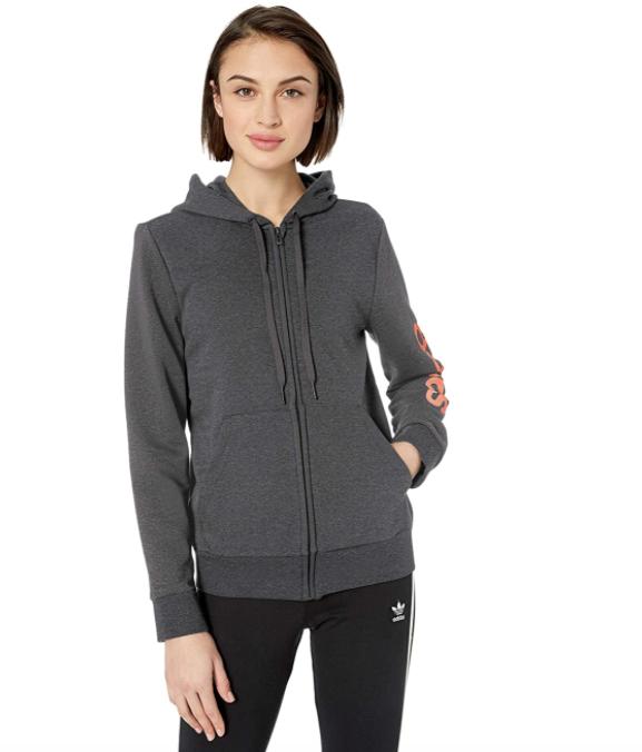 adidas womens Essentials Linear Hoodie