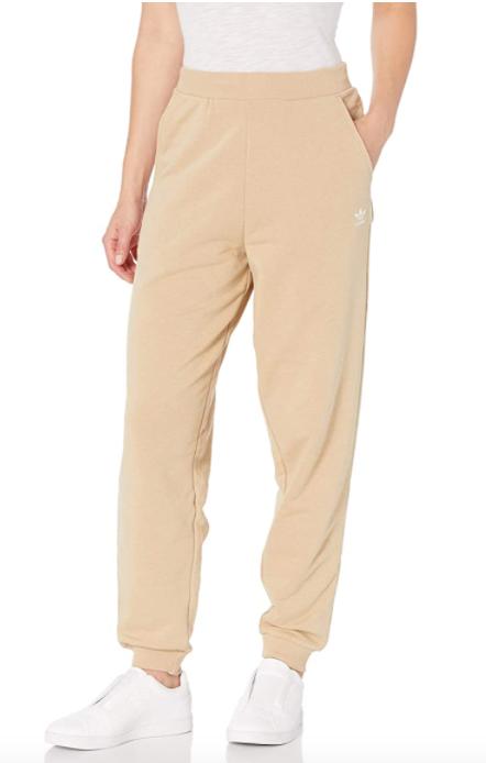 adidas Originals Women's Trefoil Essentials Cuffed Pants