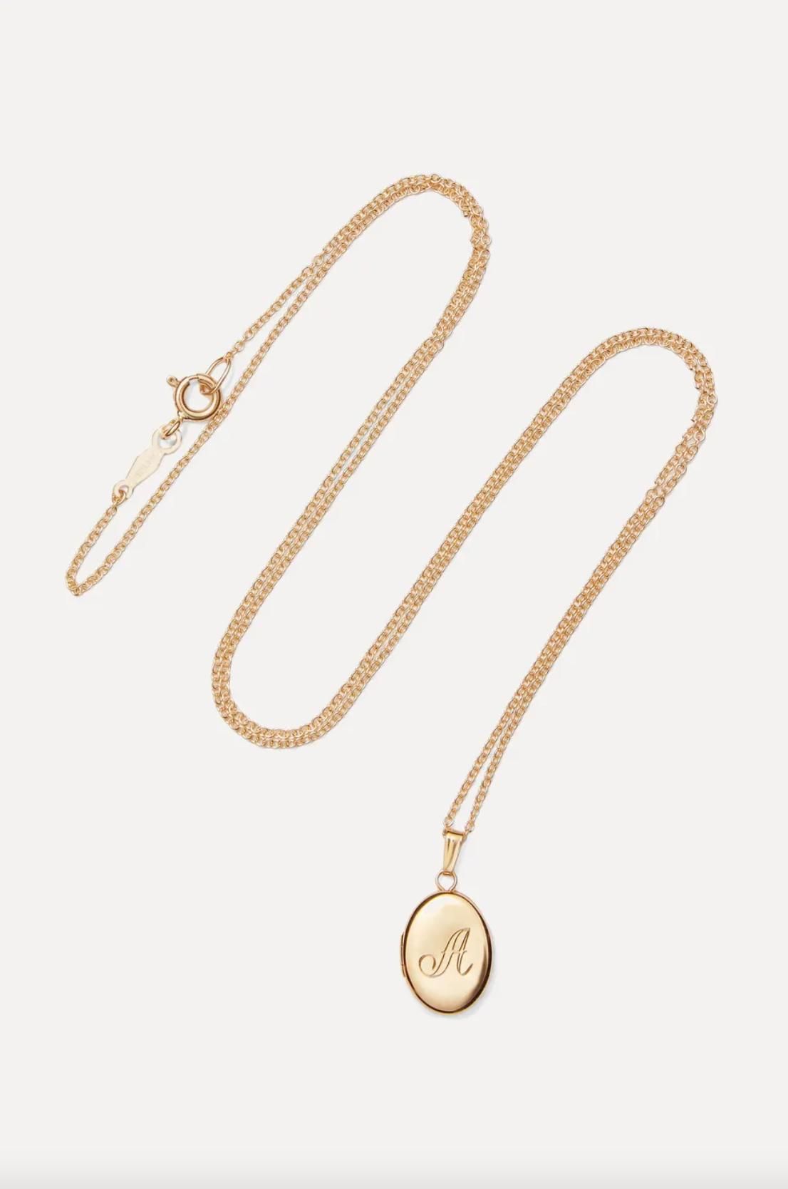 Catbird Dollhouse 14-Karat Gold Necklace