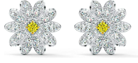 Swarovski Eternal Flower Stud Pierced Earrings