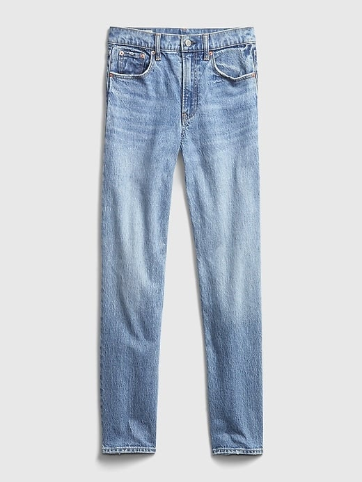 Gap Sky High Straight Leg Jeans