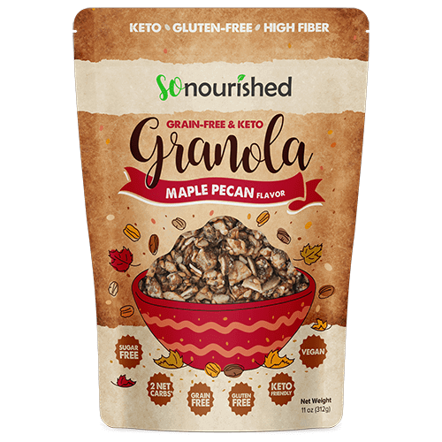 So Nourished Keto Granola Mix