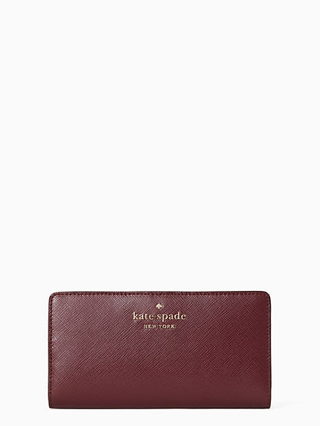 Kate Spade New York Staci Colorblock Large Slim Bifold Wallet