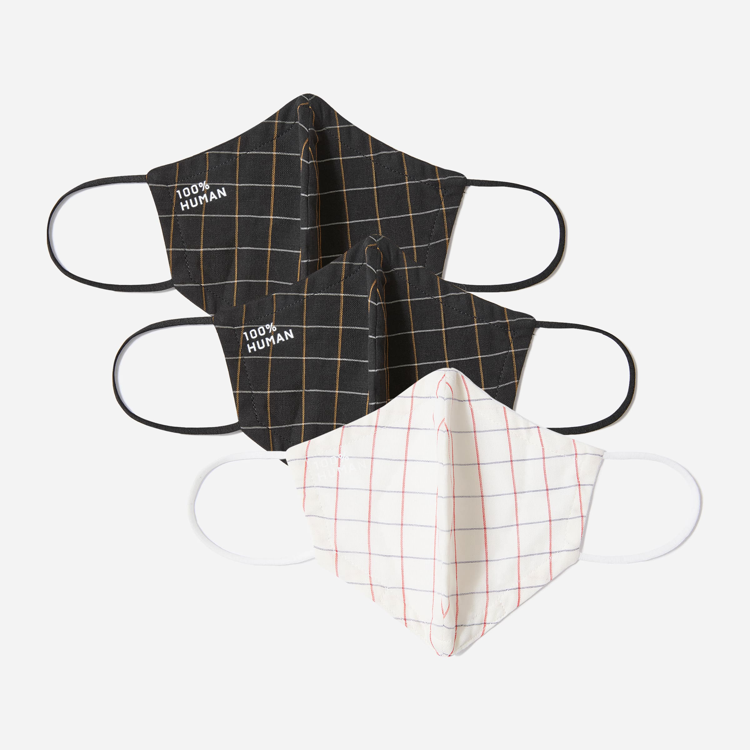 Everlane The 100% Human Face Mask 3-Pack