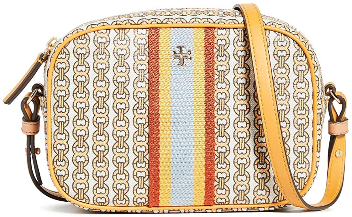 Tory Burch Women's Gemini Link Canvas Mini Bag