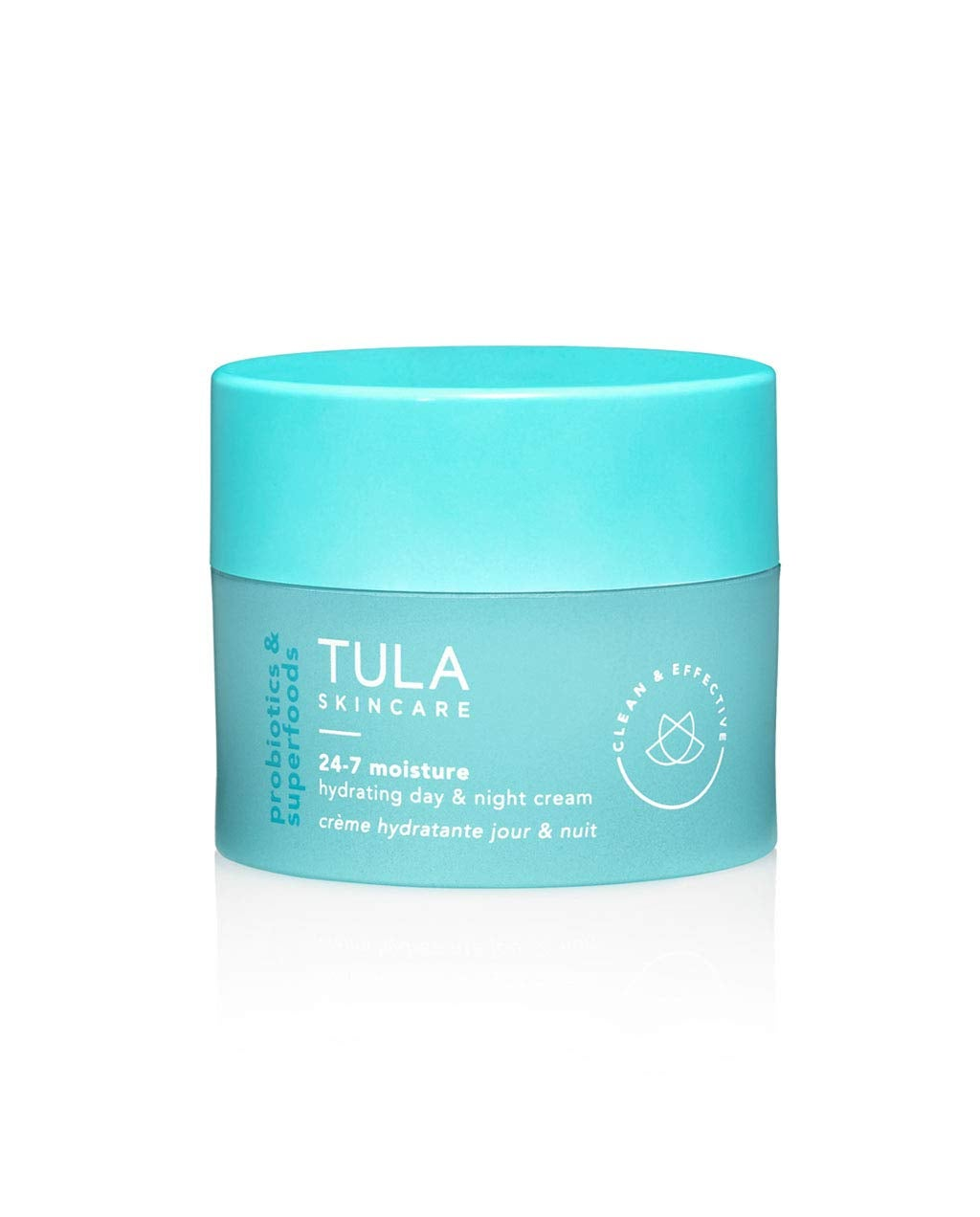 TULA Probiotic Skin Care 24-7 Moisture Hydrating Day and Night Cream | Moisturizer for Face, Ageless is the New Anti-Aging, Face Cream, Contains Watermelon Fruit and Blueberry Extract