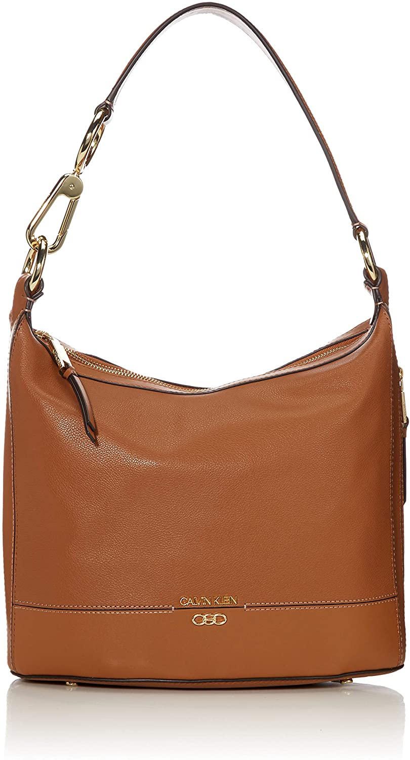 Calvin Klein Sophia Micro Pebble Leather Hobo Shoulder Bag