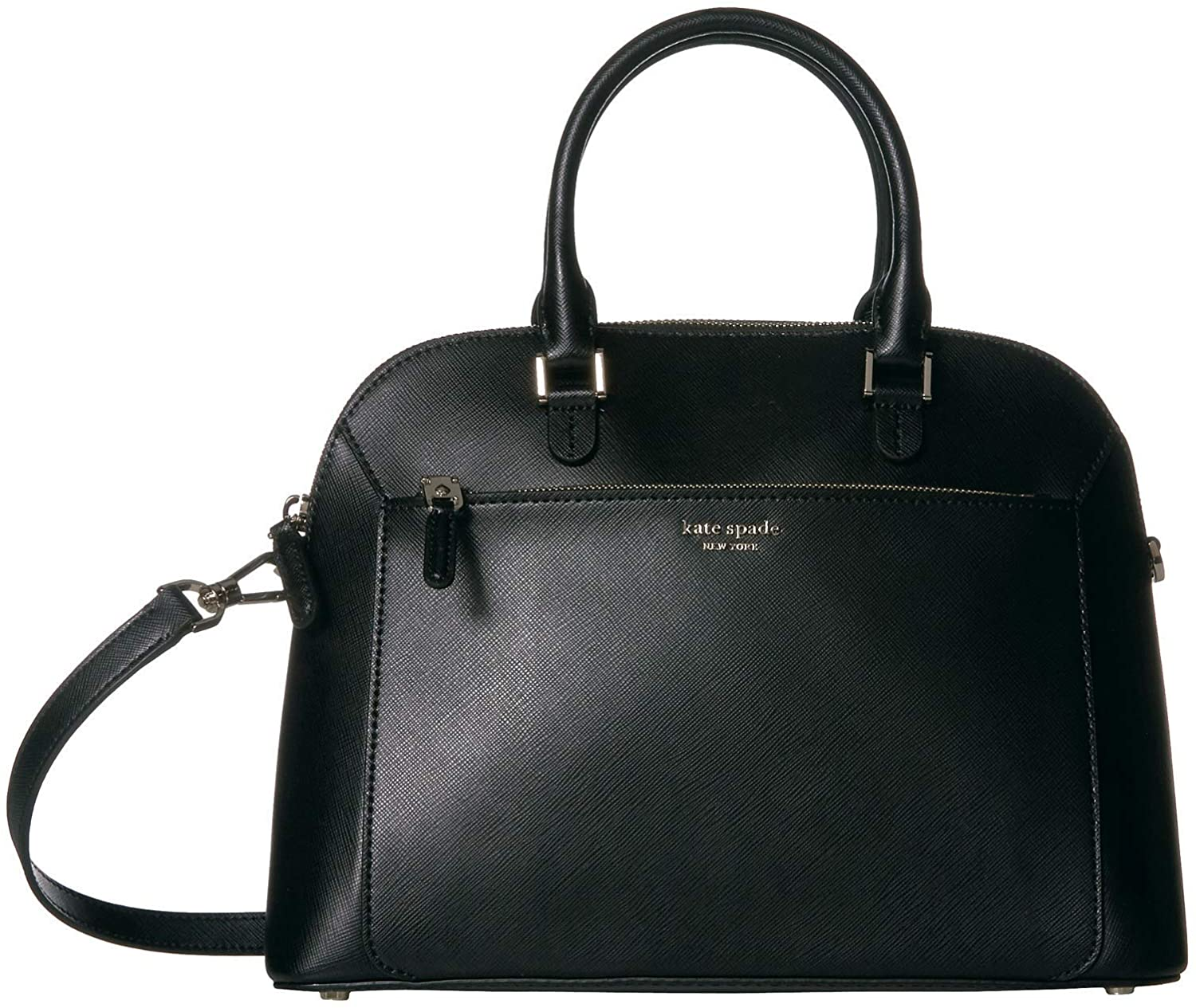 Kate Spade New York Louise Medium Dome Satchel Black