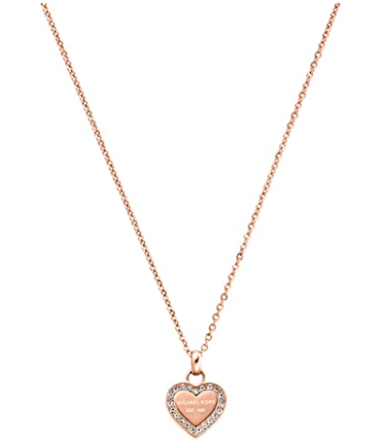 Michael Kors Women's Stainless Steel Pendant Necklace