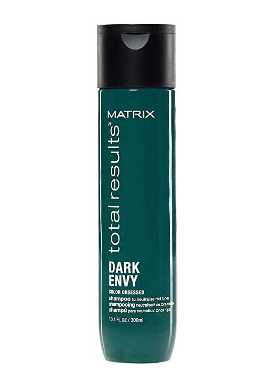 MATRIX Total Results Dark Envy Color-Depositing Green Shampoo