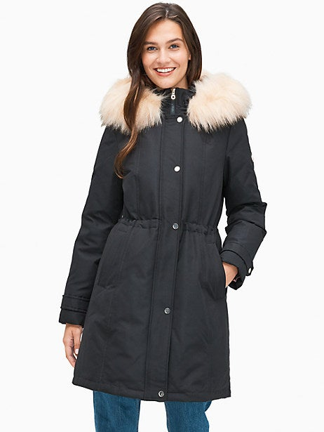 Kate Spade New York Down Jacket with Hood