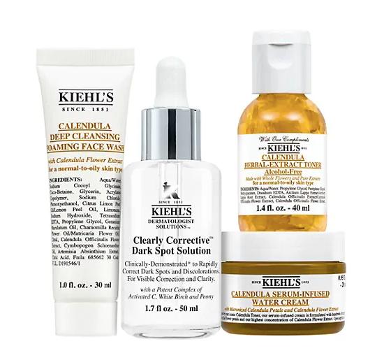 Kiehl's Brighten Up Bundle 4-Piece Skincare Set