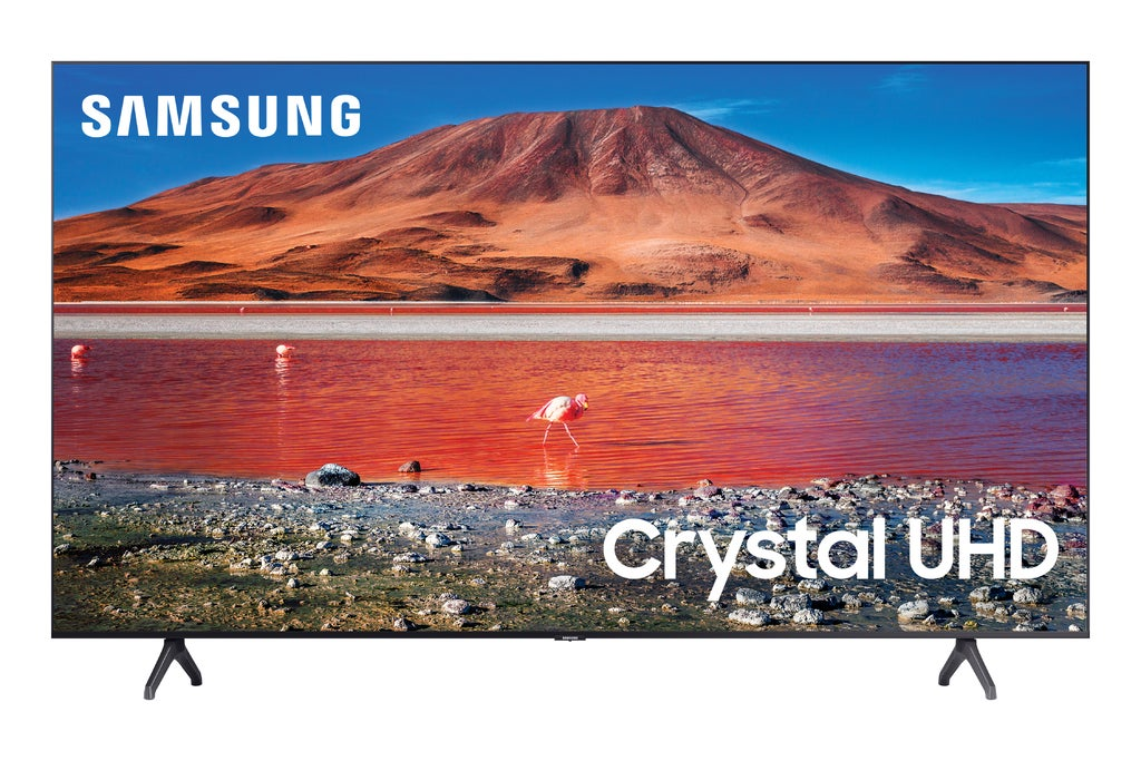 "Samsung 82"" Class 4K Crystal UHD (2160P) LED Smart TV with HDR"