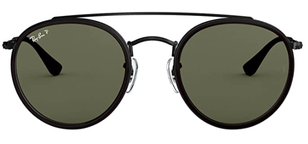 Ray-Ban Rb3647n Double Bridge Round Sunglasses