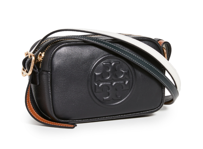 Tory Burch Perry Bombe Double Strap Mini Bag