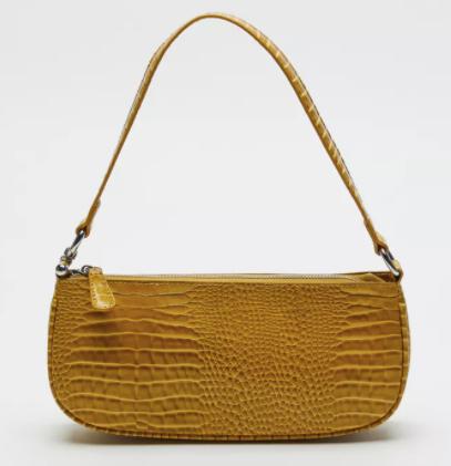 UO Croc Baguette Trendy Bag