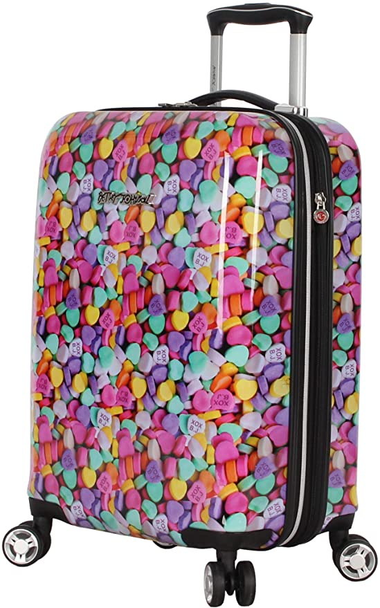 Betsey Johnson 20 Inch Carry On