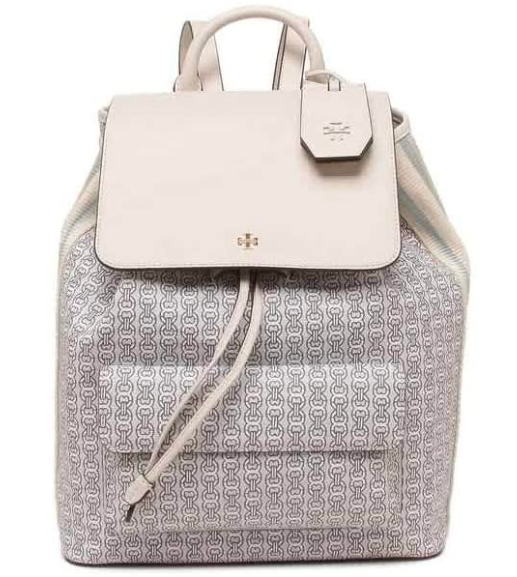 Tory Burch Gemini Link Canvas Backpack