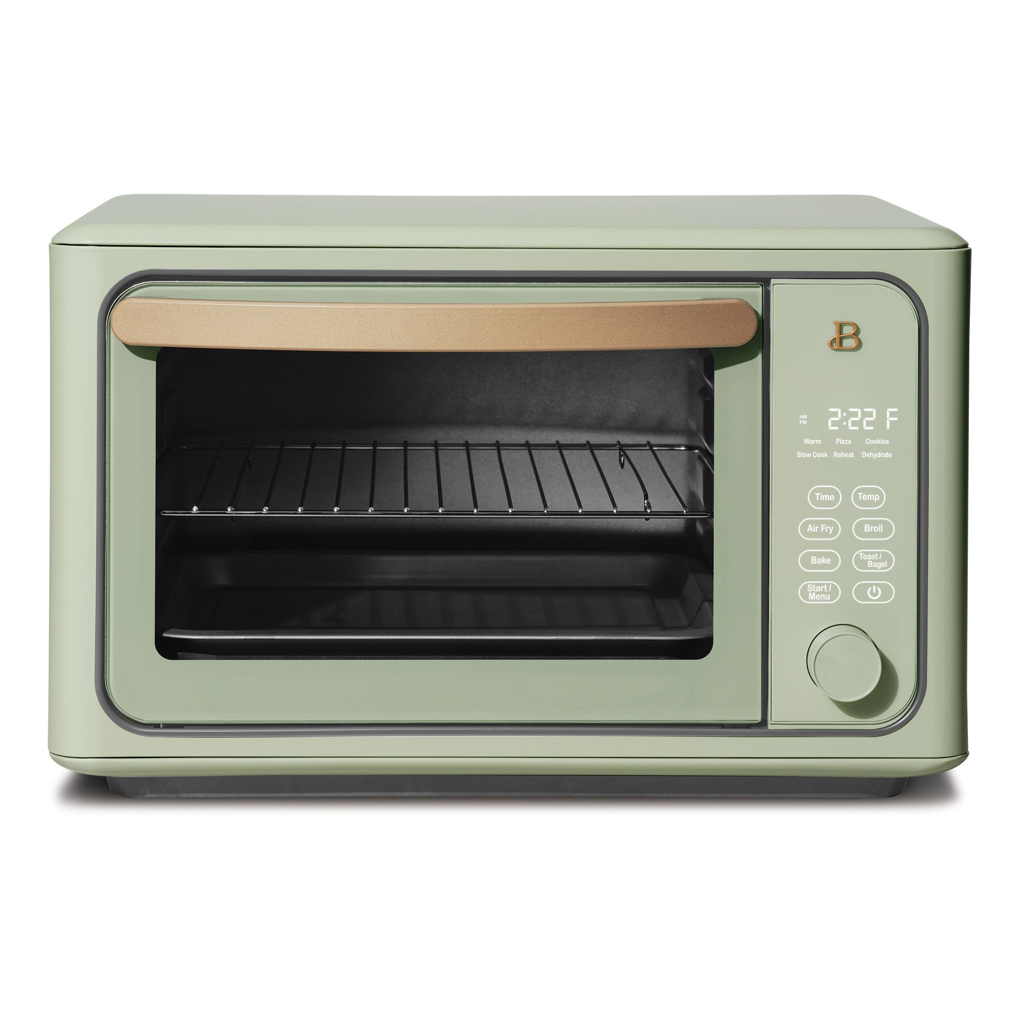 Beautiful by Drew Barrymore 6 Slice Touchscreen Air Fryer Toaster Oven